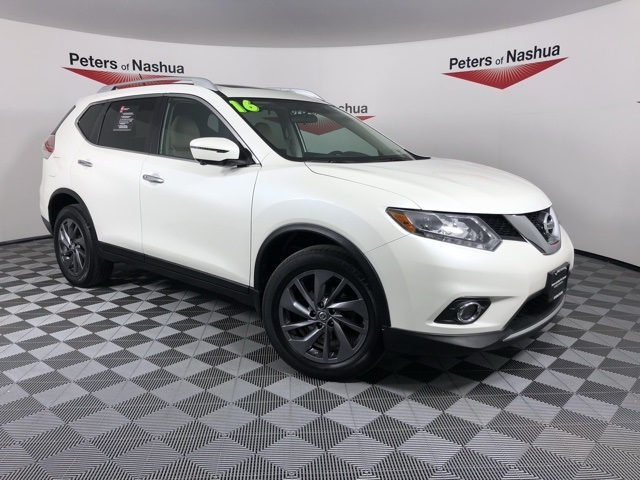 Certified Pre Owned 2016 Nissan Rogue Sl