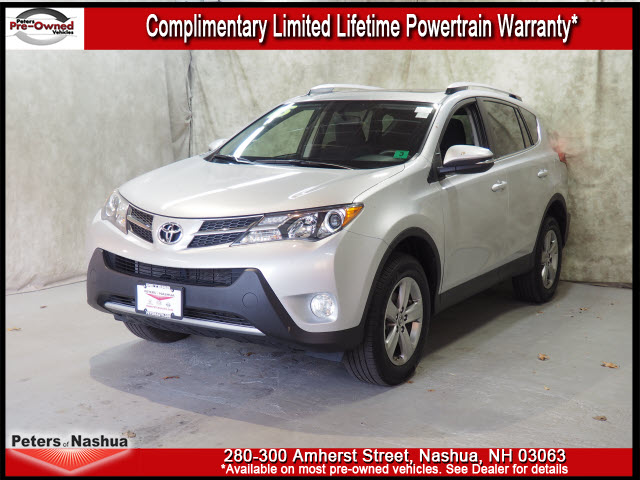 pre owned 2015 toyota rav4 xle awd xle 4dr suv in nashua 17n1069b peters of nashua. Black Bedroom Furniture Sets. Home Design Ideas