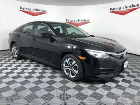 Pre-Owned 2016 Honda Civic LX FWD 4D Sedan