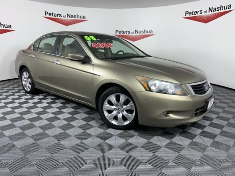 Pre-Owned 2008 Honda Accord EX FWD 4D Sedan