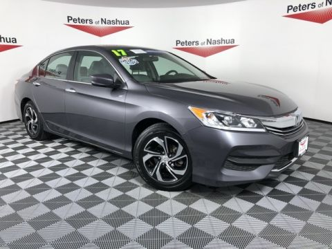 Pre-Owned 2017 Honda Accord LX FWD 4D Sedan