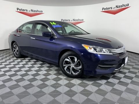 Certified Pre-Owned 2016 Honda Accord LX FWD 4D Sedan