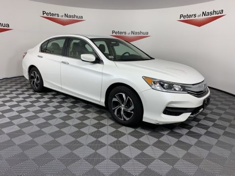 Certified Pre-Owned 2017 Honda Accord LX FWD 4D Sedan