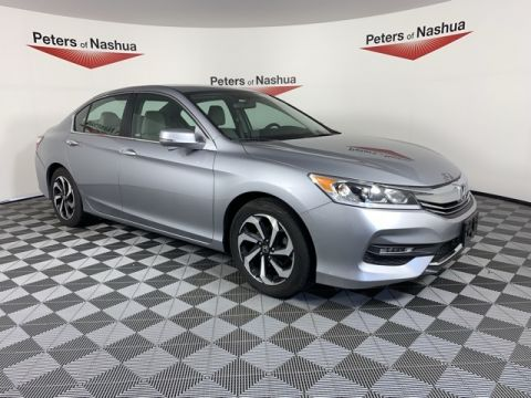 Certified Pre-Owned 2016 Honda Accord EX FWD 4D Sedan