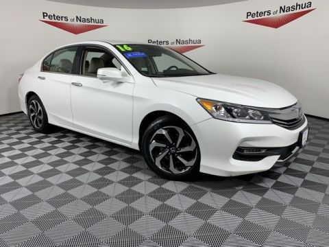 Certified Pre-Owned 2016 Honda Accord EX-L FWD 4D Sedan w/Navigation and Honda Sensing