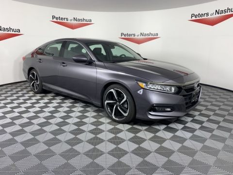 Certified Pre-Owned 2019 Honda Accord Sport FWD 4D Sedan