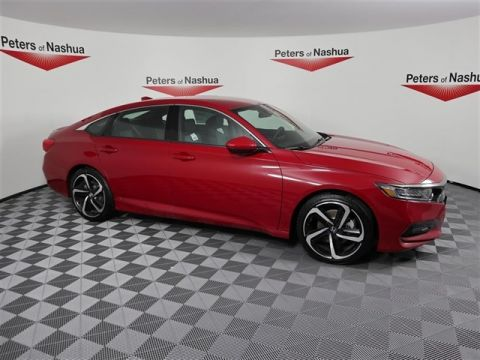 New 2018 Honda Accord Sport FWD 4D Sedan