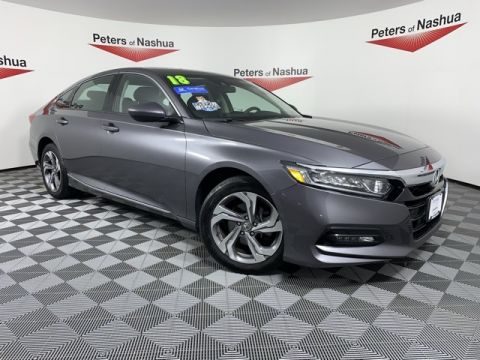 Certified Pre-Owned 2018 Honda Accord EX FWD 4D Sedan