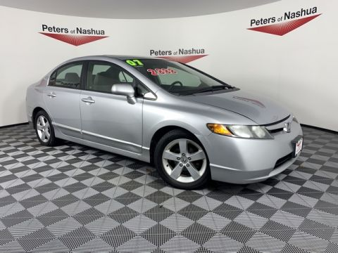 Pre-Owned 2007 Honda Civic EX FWD 4D Sedan