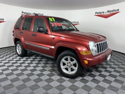 Pre-Owned 2007 Jeep Liberty Limited 4WD