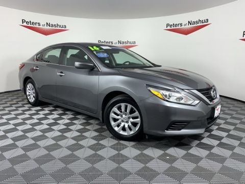 Pre-Owned 2016 Nissan Altima 2.5 S FWD 4D Sedan