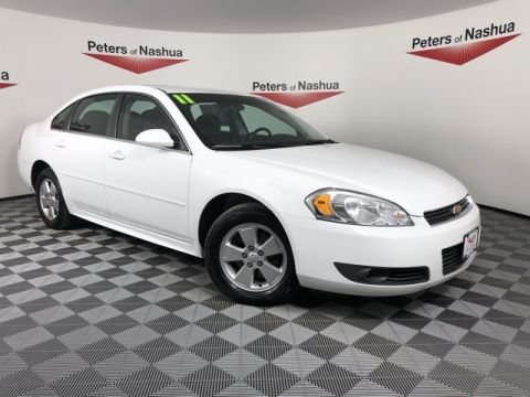 Pre-Owned 2011 Chevrolet Impala LT FWD 4D Sedan