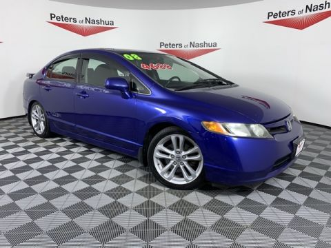 Pre-Owned 2008 Honda Civic Si FWD 4D Sedan
