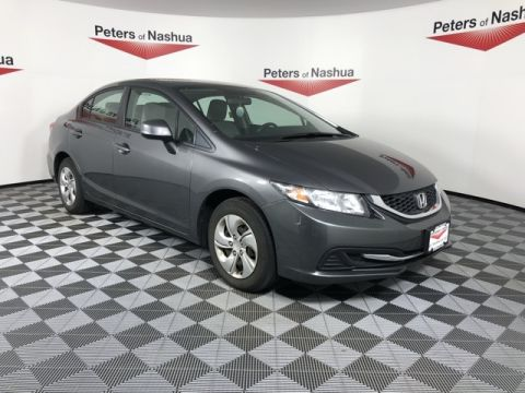 Pre-Owned 2013 Honda Civic LX FWD 4D Sedan