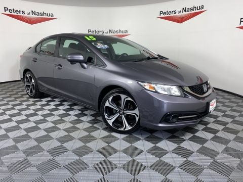 Pre-Owned 2015 Honda Civic Si FWD 4D Sedan