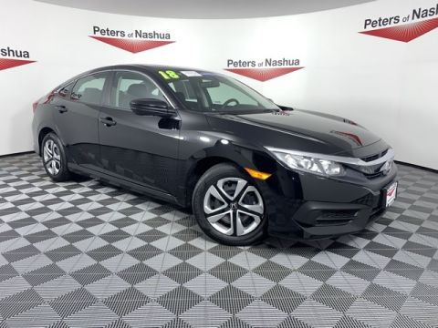 Pre-Owned 2018 Honda Civic LX FWD 4D Sedan