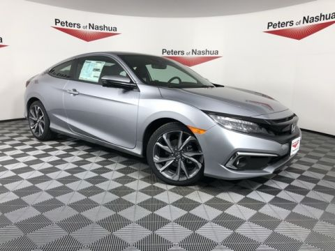 New 2019 Honda Civic Touring FWD 2D Coupe