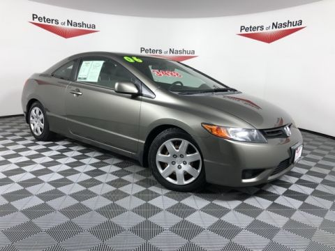 Pre-Owned 2006 Honda Civic LX FWD 2D Coupe