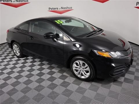 Pre-Owned 2015 Honda Civic LX FWD 2D Coupe