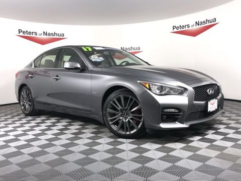 Pre-Owned 2017 INFINITI Q50 Red Sport 400 AWD
