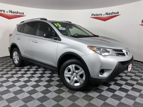 Pre-Owned 2015 Toyota RAV4 LE AWD
