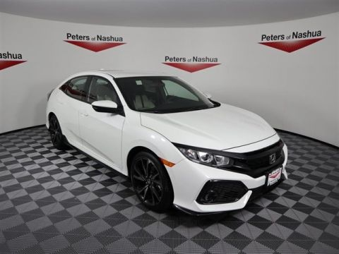 New 2018 Honda Civic Sport FWD 4D Hatchback