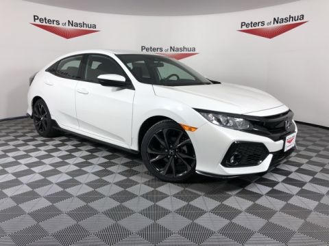 New 2019 Honda Civic Sport FWD 4D Hatchback